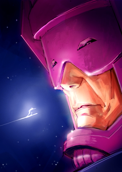 Galactus_and_Silver_Surfer_by_pungang